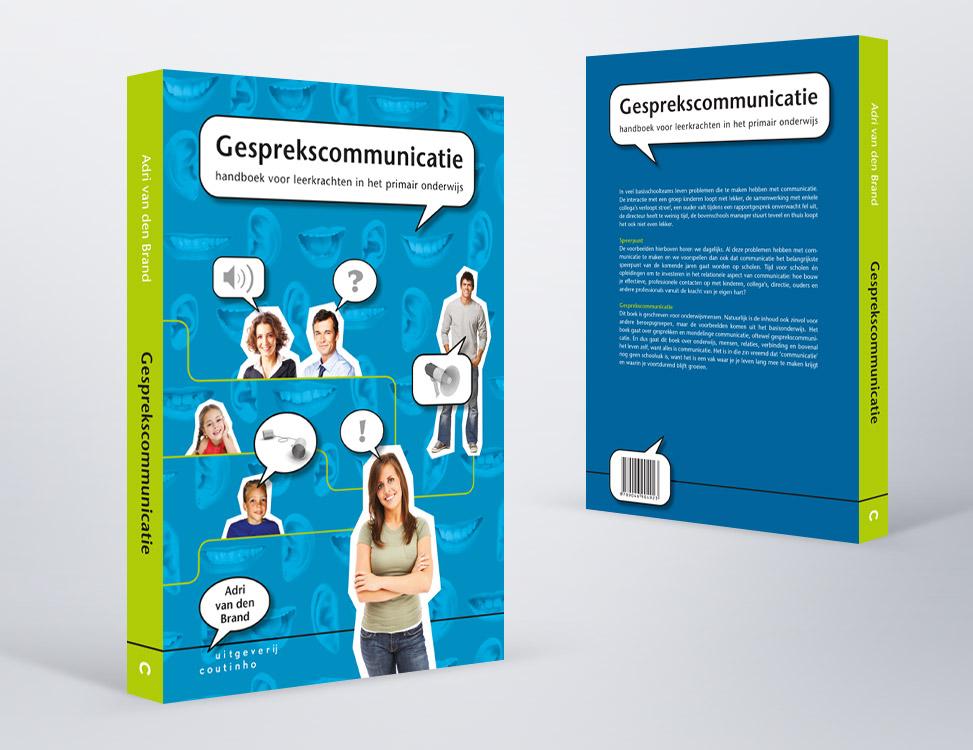 IndionDesign boekomslag Gesprekscommunicatie
