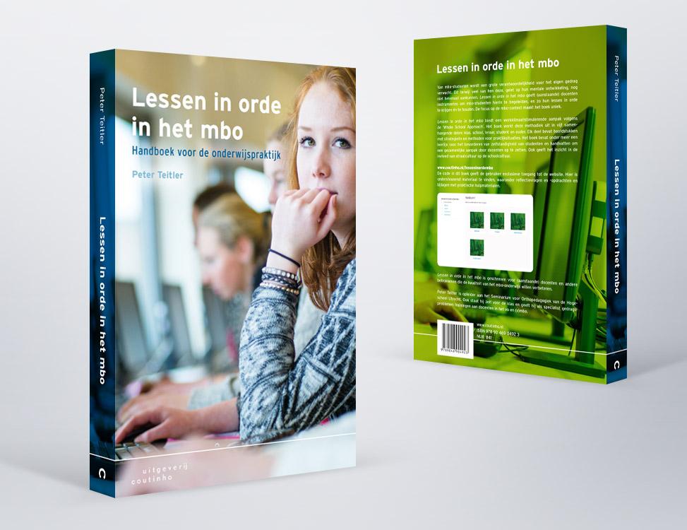 IndionDesign boekomslag Lessen in orde in het mbo