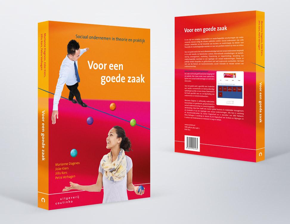 IndionDesign boekomslag Voor een goede zaak