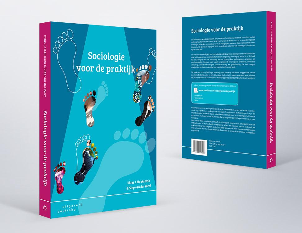 IndionDesign boekomslag Sociologie voor de praktijk