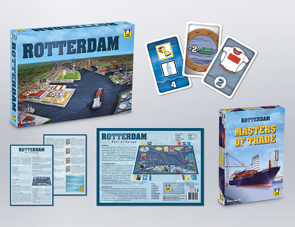 IndionDesign bordspellen Rotterdam & Masters of Trade