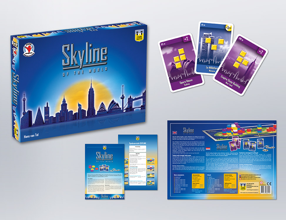 IndionDesign bordspellen Skyline