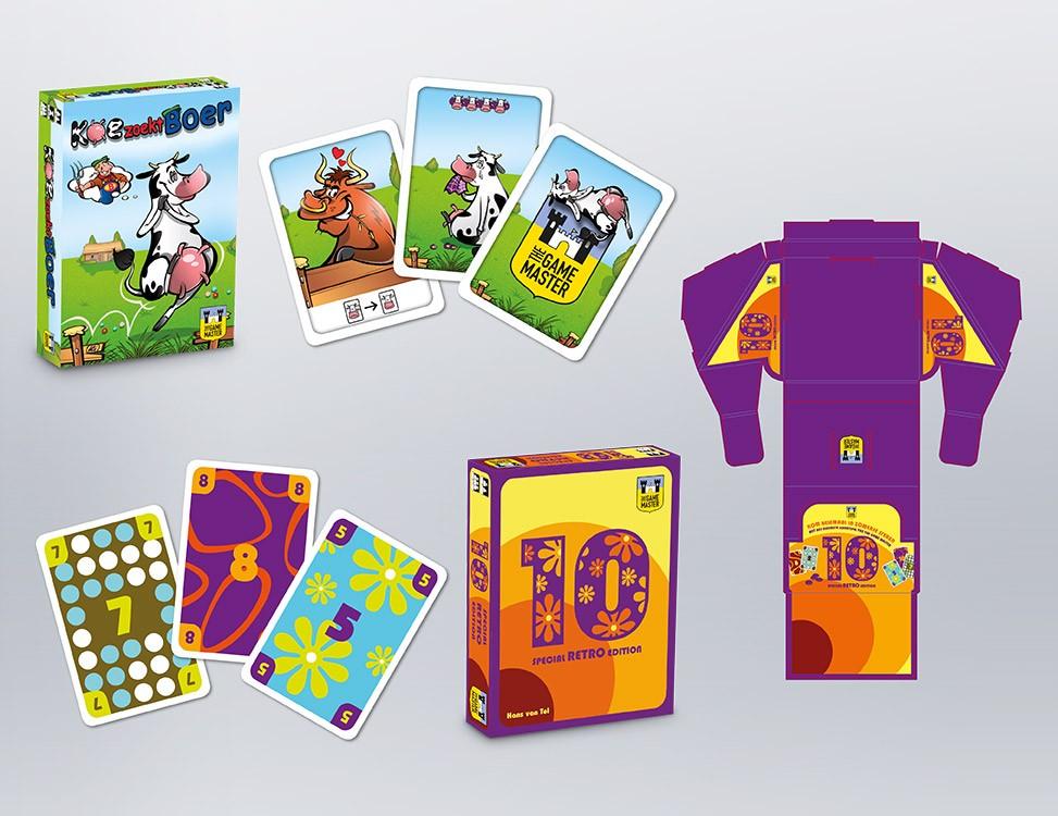 IndionDesign kaartspellen 10 | Koe zoekt Boer