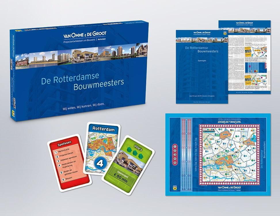 IndionDesign bordspellen Van Omme & De Groot